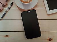Чехол-книжка для Samsung J4 2018 Galaxy J400 Premium Leather (экокожа + силикон) черный