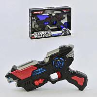 Пистолет КТ 8881 - F1 Космический бластер (60) 2 цвета, в коробке