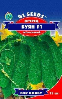 Огурец Буян F1 партенокарпик, пакет 10 семян - Семена огурцов, фото 2