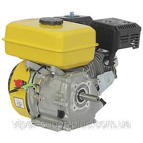 Двигатель Бензиновый к мотоблоку Кентавр (Kentavr) ДВЗ-200Б (6.5 л.с.) под шпонку, вал 19,5мм (для ремней)