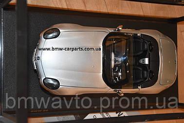 Коллекционная модель BMW Z8 Convertible (E52), Heritage Collection, 1:18 scale, Silver, фото 3