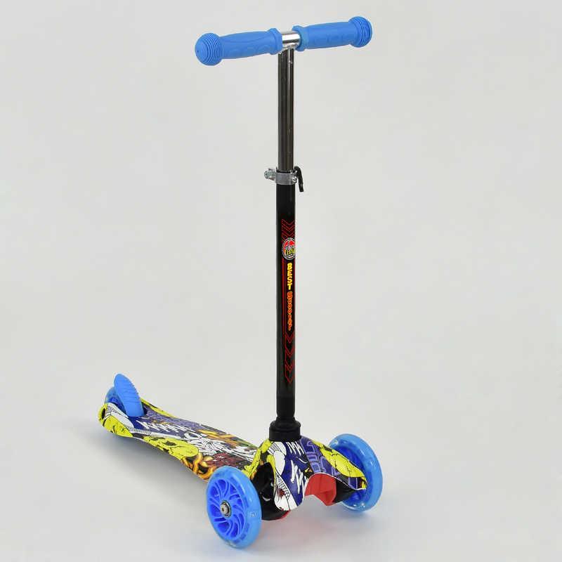 """Самокат """"BEST SCOOTER"""" mini А 24701 / 779-1292 (8) колеса свет"""