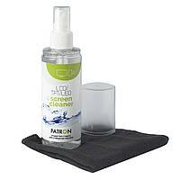 Набор чистящий Patron для TFT/LCD: спрей 120 мл салфетка из микрофибры F3-022