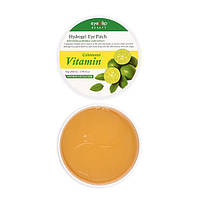 Витаминные гидрогелевые патчи Eyenlip Calamansi Vitamin Hydrogel Eye Patch