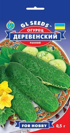 Огурец Деревенский, пакет 0,5г - Семена огурцов, фото 2
