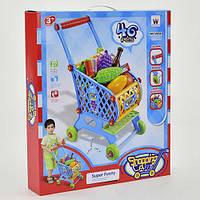 """Тележка """"Супермаркет"""" W 061 (20) с продуктами, в коробке"""