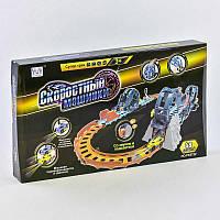 Трек Швидкісні машинки РК 5722 (18) 48 деталей, світло, звук, в коробці