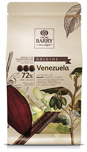 Шоколад черный Venezuela 72% 100 г, Cacao Barry