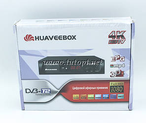 Цифровой Тюнер Т2 Huaveebox ST-007 IPTV YouTube WiFi 4k(1080) Full HD (без гарантий)