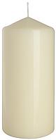 Декоративная свеча цилиндр sw70/150 кремовая BISPOL (15 см)