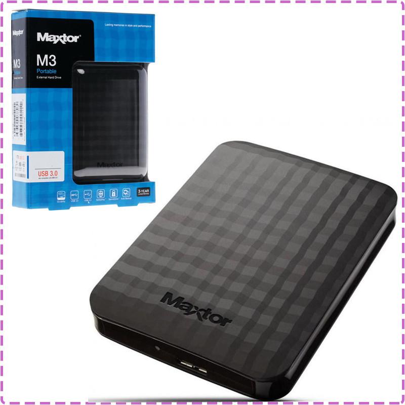 Внешний жесткий диск 500 Gb Seagate (Maxtor), USB 3.0, 5400 rpm (STSHX-M500TCBM), 500 Гб