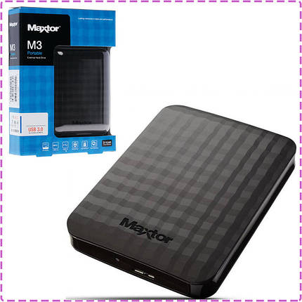 Внешний жесткий диск 500 Gb Seagate (Maxtor), USB 3.0, 5400 rpm (STSHX-M500TCBM), 500 Гб, фото 2