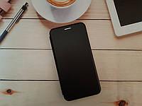 Чехол-книжка для Xiaomi Redmi 5 Premium Leather (экокожа + силикон) черный