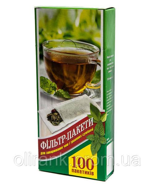 Фильтр пакеты для чая (карт.упаковка)  ХХL (185*85*52) 100шт/уп (50уп/ящ)