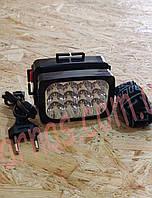 Аккумуляторный налобный фонарь Yajia YJ-1837, фото 1