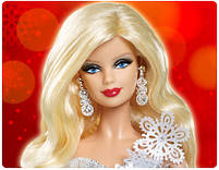 Кукла Барби коллекционная Праздничная 2013 (2013 Holiday Barbie Doll), фото 2