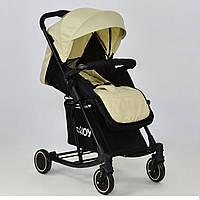 Детская коляска Т 609 JOY с функцией качания бежевая, фото 1