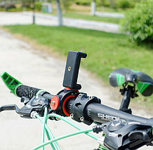 Двойное крепление на велосипед для телефона,экшен-камер, фото 2