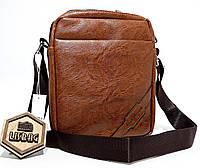 f5c1c1233c6c Мужская сумка планшетка\барсетка через плечо для повседневной носки  Светло-коричневого цвета,Levis