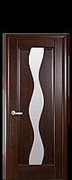 Дверь межкомнатная Новый стиль Волна  (Каштан)