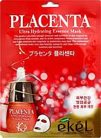 Маска с экстрактом плаценты соевых бобов Ekel