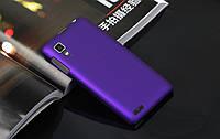 Чехол накладка бампер для Lenovo P780 фиолетовый