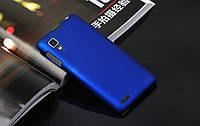 Чехол накладка бампер для Lenovo P780 синий