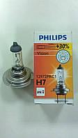 "Лампа галогенова H7 12V 55W ""Philips"" +30% - виробництва Польщі, фото 1"