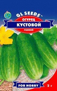 Огурец Кустовой, пакет 1г - Семена огурцов, фото 2