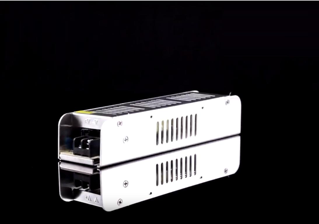 Блок питания OEM DC12 240W 20А STR-240 узкий с EMC фильтром