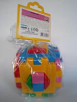 Игрушка развивающий куб Розумний малюк ТехноК 2469