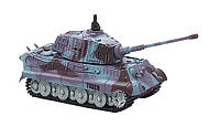 2711423816939 Танк микро р/у 1:72 King Tiger со звуком (фиолетовый, 35MHz)