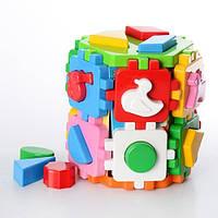 Развивающая игрушка куб сортер ТехноК 2001