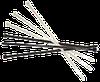 Хомут кабельный нейлоновый белый, 4х200, CNC