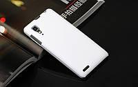 Чехол накладка бампер для Lenovo P780 белый