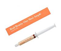 Ампула для подтяжки овала лица - Четкий контур Real Skin Oneshot Ample Egg contour