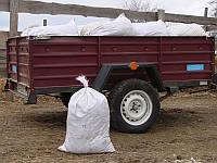 Конский навоз в мешках с доставкой