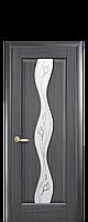 Дверь межкомнатная Новый стиль Волна  (Серый)