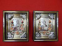 Реставрация,Оформление старинных икон.Обрамление икон, фото 1