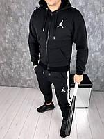 Спортивный костюм Jordan D5682 черный теплый