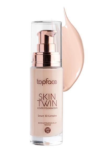 Тональная основа TopFace Skin Twin Cover Foundation SPF20 РТ464