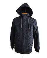 Куртка мужская весенняя (осенняя),мужская ветровка на резинке, с манжетами