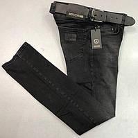 Мужские джинсы Moschino D5655 черные
