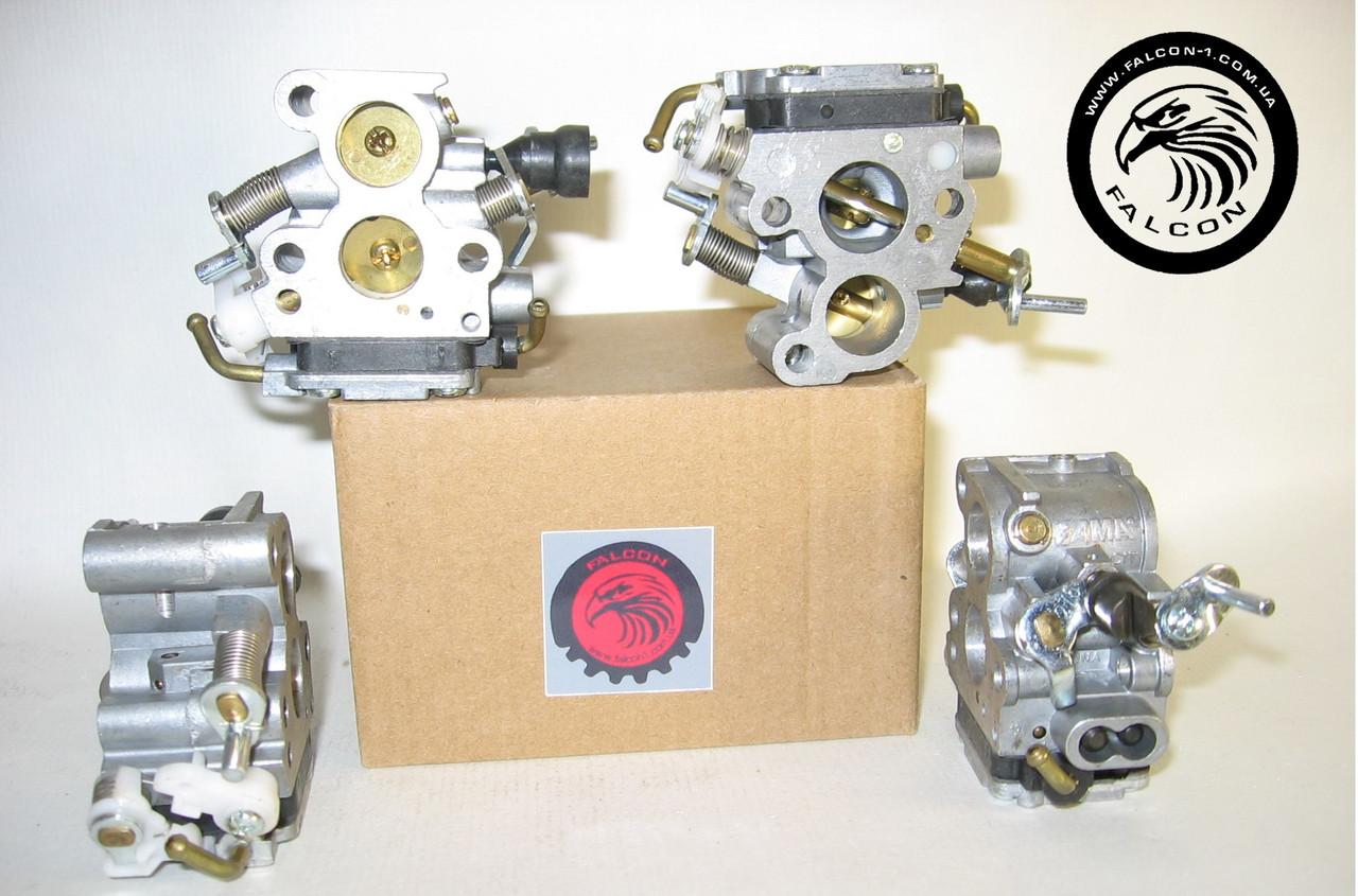 Карбюратор McCulloch CS350, CS390, CS410 (5064505-01), для бензопил Макулаш, Zama оригинал.