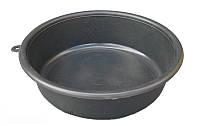 Таз поліетиленовий 7 літрів чорний (ХАРПЛАСТМАС), фото 1