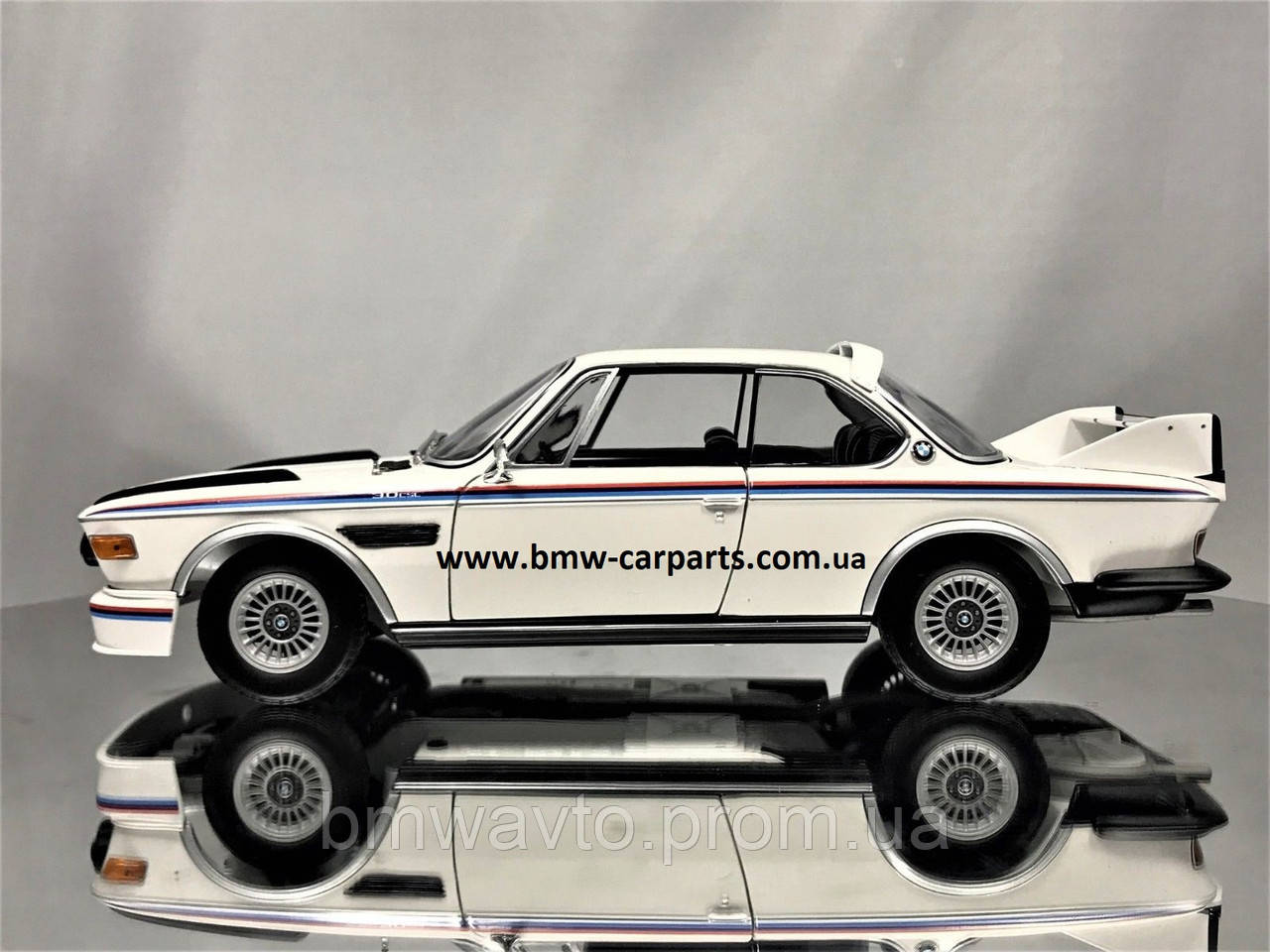 Коллекционная модель BMW 3.0 CSL, Heritage Collection, 1:18 scale, Motorsport