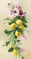 Схема для вышивания бисером Tela Artis Букет с лимонами ТК-085