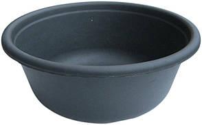 Таз полиэтиленовый 8 литров чёрный (ХАРПЛАСТМАСС)