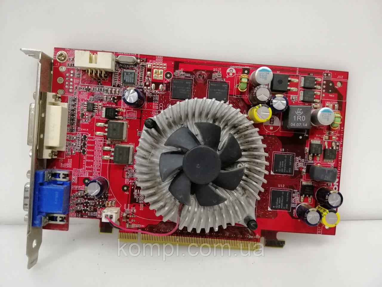 Видеокарта NVIDIA 6610XL 128mb  PCI-E
