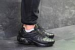 Мужские кроссовки Nike Air Max Tn (черные) весна-осень, фото 4